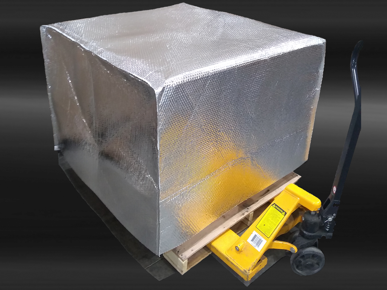 temp a shield insulated pallet cover from stateline packaging